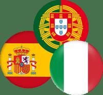 España-Portgal-Italia