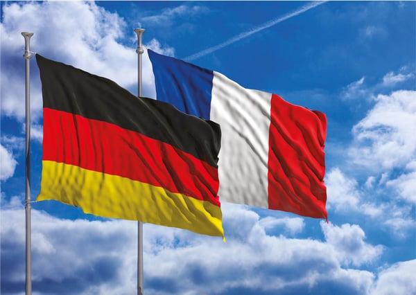 Pedido electrónico en Francia y Alemania