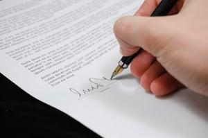contrato a firmar